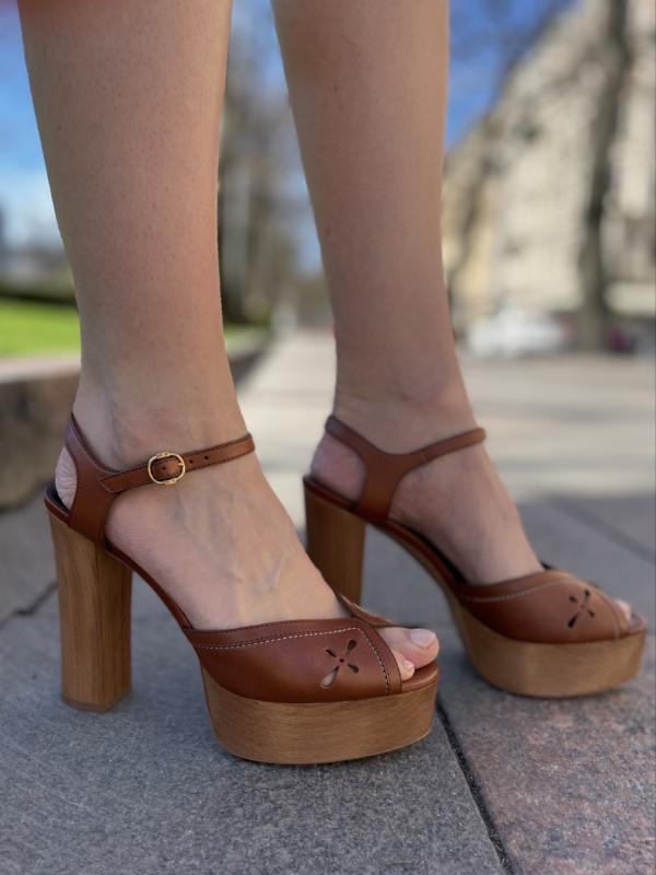 Celine Wooden Sandals