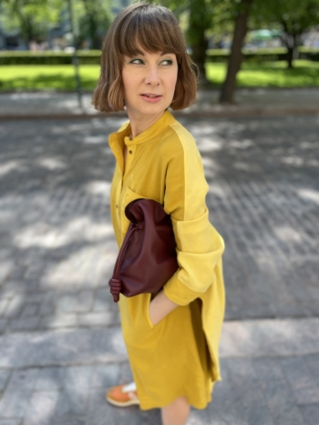 Loewe Anagram Tunic Dress