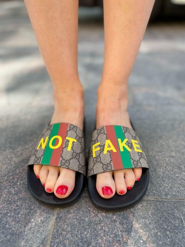 Gucci Fake / Not Slide Sandal