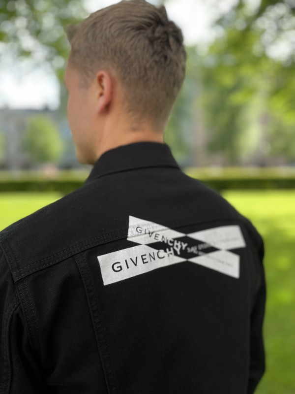 Givenchy Webbing logo denim jacket