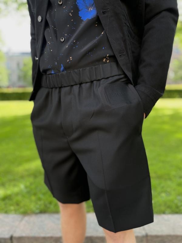 Givenchy Logo Patch Bermuda Shorts